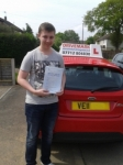 Jack passed with Drivemark Driving School