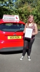 Kath passed with Drivemark Driving School