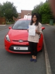Lynda passed with Drivemark Driving School