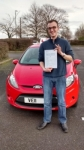 Ricky passed with Drivemark Driving School
