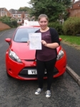 Steph passed with Drivemark Driving School
