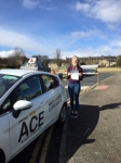 Beth Hanson passed with Driving Ace School Of Motoring