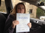Charlotte Brown passed with Driving Ace School Of Motoring