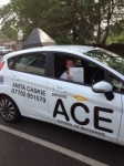 Charlotte Cowan passed with Driving Ace School Of Motoring