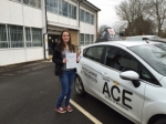 Ellen Adams passed with Driving Ace School Of Motoring
