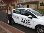 Gabrielle Snoden passed with Driving Ace School Of Motoring