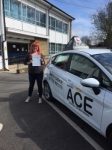 Geri Riley passed with Driving Ace School Of Motoring