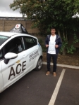 Hassan Shazad passed with Driving Ace School Of Motoring