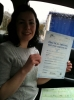 Carly Wicker passed with Driving Ace School Of Motoring