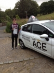 James Sudder passed with Driving Ace School Of Motoring