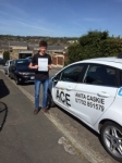 Jordan Stephens passed with Driving Ace School Of Motoring