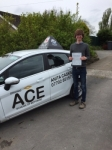 Joseph Clark passed with Driving Ace School Of Motoring