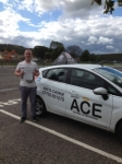Josh Yeadon passed with Driving Ace School Of Motoring