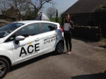 Katharine Missin passed with Driving Ace School Of Motoring