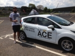 Kelly Hall passed with Driving Ace School Of Motoring