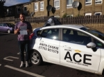 Lee Roberts passed with Driving Ace School Of Motoring
