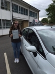 Lucy Rutherford passed with Driving Ace School Of Motoring