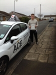 Matthew Brown passed with Driving Ace School Of Motoring
