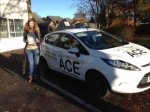 Michelle Scott passed with Driving Ace School Of Motoring