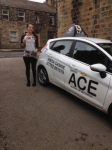 Naomi Darling passed with Driving Ace School Of Motoring