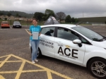 Rebecca McKniff passed with Driving Ace School Of Motoring