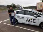 Ricky Chivers passed with Driving Ace School Of Motoring