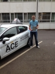 Ryan Heywood passed with Driving Ace School Of Motoring