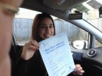 Saira Iqbal passed with Driving Ace School Of Motoring