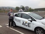 Samuel Smithson passed with Driving Ace School Of Motoring