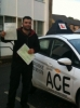 Omid Ashqi passed with Driving Ace School Of Motoring