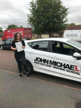 WOW!! AMAZING DRIVING!!! Well done Emily Mather!!!  💃💃 She's only went and passed her driving test FIRST ATTEMPT WITH ZERO MINORS!! 🚗💨 The perfect drive!! Call 0800 043 2242 or visit johnmichaeldrivinglessons.co.uk to book 💪🏻...