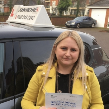 Great Drive from Hayley Cook today!! She's just passed first time with our instructor Gavin Hudd!! Well done Hayley!! 🤳🏻