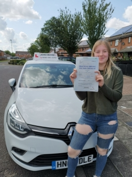 Great drive to From Brooke Lafferty! She's just passed her test with our driving instructor Rob Stephenson, Well done Brooke!...