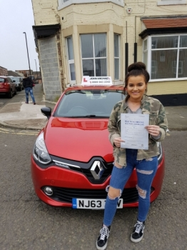 Well done Georgia Crafts! She's just passed her driving test at Blyth with her instructor Rob Stephenson 😀 We've been knocking out the passes all week!! Why go anywhere else? Call us on 0800 043 2242 or check us out online @ johnmichaeldrivinglessons.co.uk...