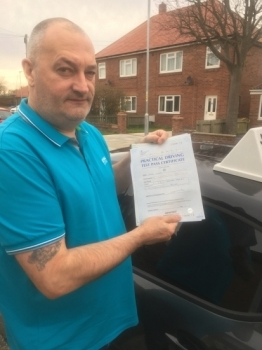 Well done Peter Dixon! Just passed his test first time with our instructor Gavin Hudd! Call 0800 043 2242 or visit johnmichaeldrivinglessons.co.uk to book...