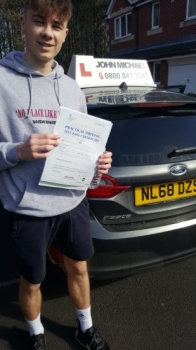 Congratulations to Jamie today he's just passed his test today with our instructor Graham Scott and only 2 minors! Great effort!!...