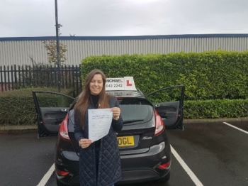 Another 1st time pass at Southshields today, this time Chloe Watson! Well done amazing driving! Chloe passed with our instructor Graham Leech, who hasn't had a fail this year!!...
