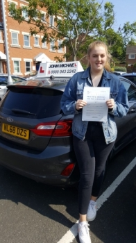 Congratulations to Helaina on passing her test today 👌🏻Great effort! Helaina passed with our instructor Graham Scott...