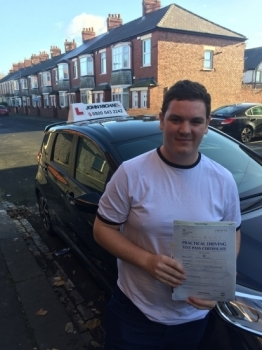 ANOTHER FIRST TIME PASS!! Well done Joe Cozens! passed today at Blyth with his instructor Dave Sproat and only 2 minors!! Call 0800 043 2242 to book or check us out online www.johnmichaeldrivinglessons.co.uk...