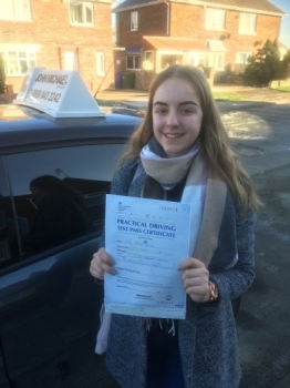 Cracking first time pass for Holly Read with one minor!...