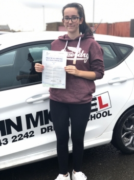 Well done Amy Clough! She's just smashed her test with only 3 minors at #blyth! Call us and be next on 0800 043 2242...