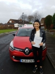 Kaitlyn Campbell passed with John Michael Driving School