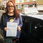Jenifer Cage  passed with John Michael Driving School