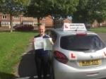 Emily Coates passed with John Michael Driving School