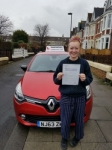 Tilda passed with John Michael Driving school