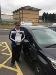 Mathew passed @ Gosforth  passed with John Michael Driving school