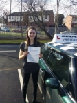 Lucy passed with John Michael Driving School