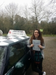Holly passed with John Michael Driving School