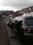 Emma Taylor passed with John Michael Driving school
