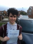 Reece passed at Blyth passed with John Michael Driving school